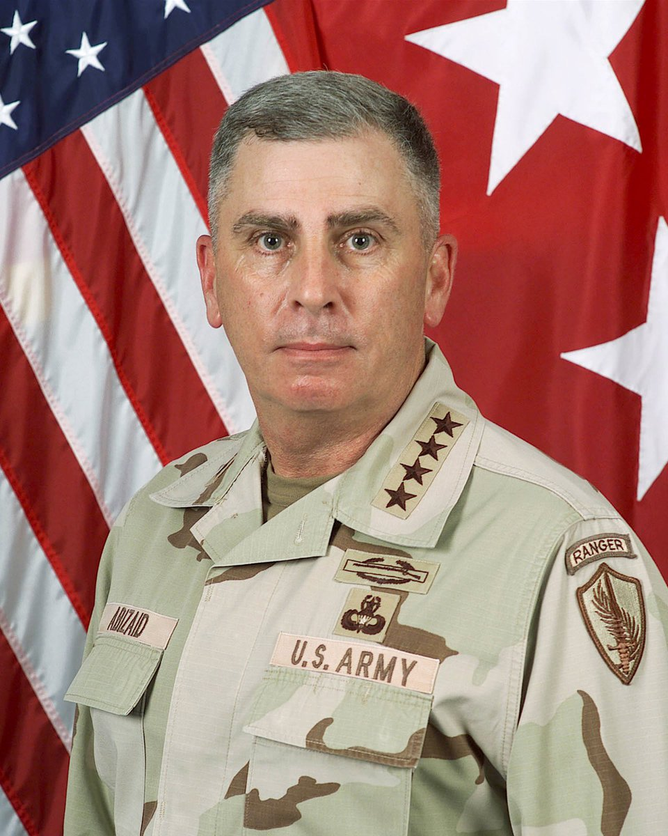 Original photo of Army Gen John Abizaid