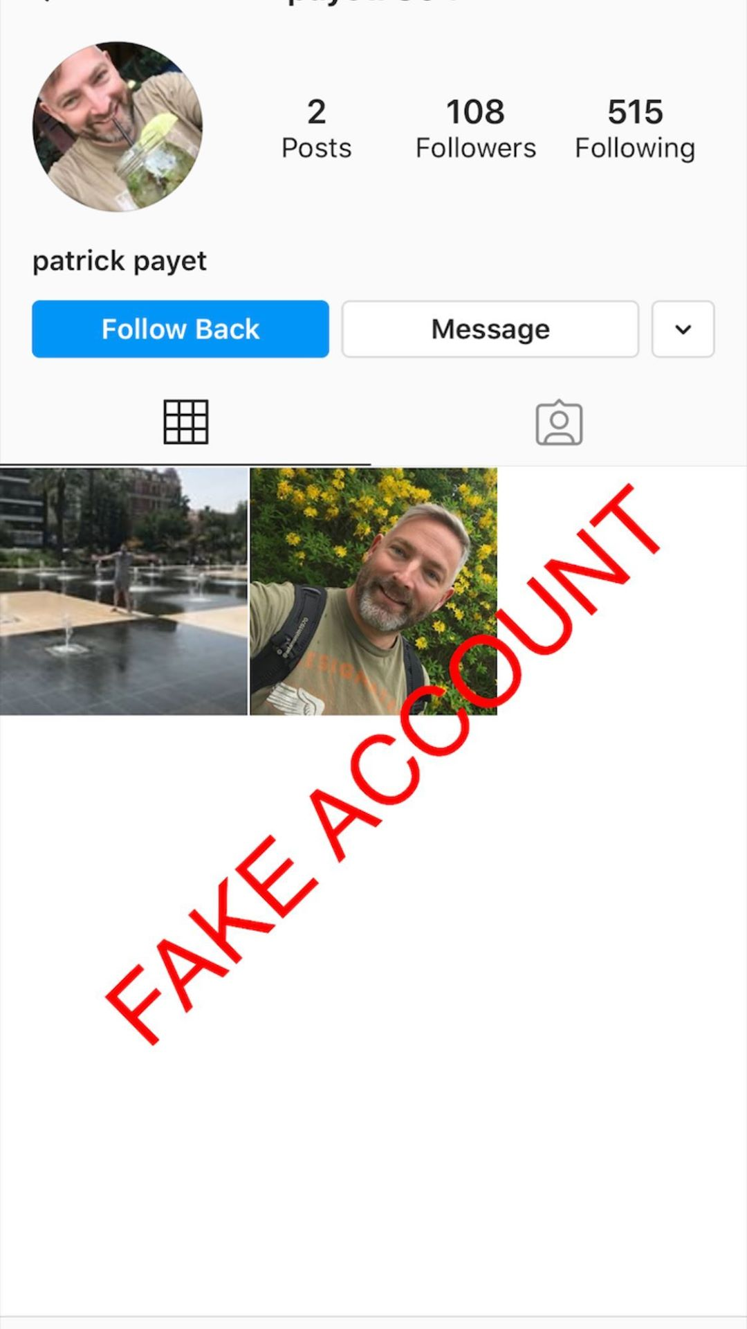 Adam Smith fake account on Instagram - 44